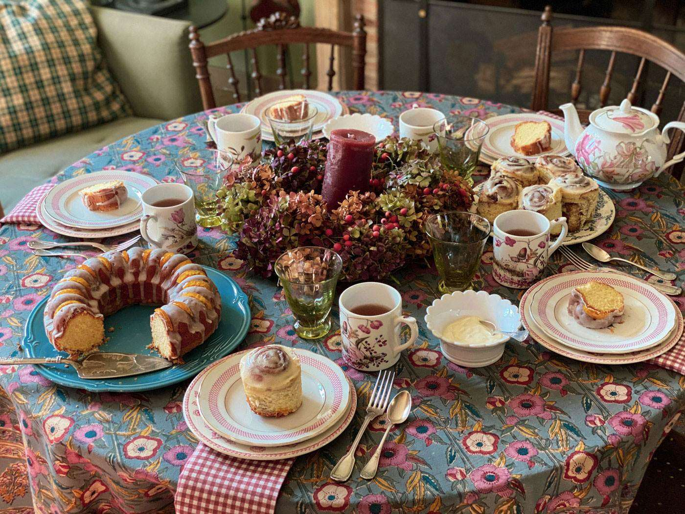 goûter d'automne cosy recette campagne french teatime